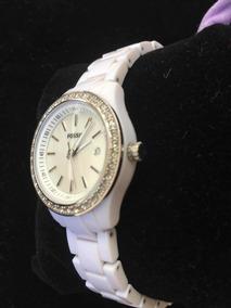 Relógio Marca Fóssil Branco Feminino