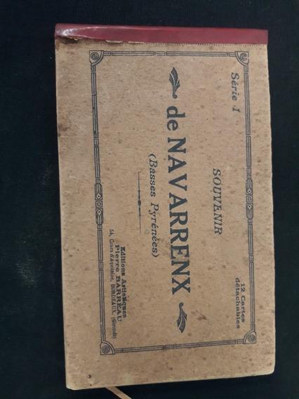 Antiguo Álbum Postales De Navarrenx Francia Año 1914.