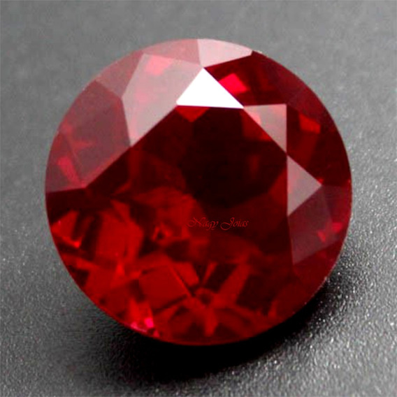Magnífico Rubi Pedra Preciosa Cor Vermelho Brasa / 7.4 Cts