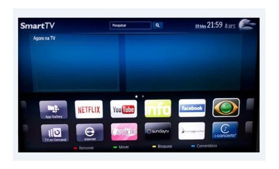 Smart Tv Philips 39 Em Ótimo Estado De Conservação - Leia