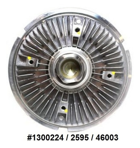 Fan Clutch De Ventilador Bmw X5 4.4l 4.6l V8 2000 - 2003