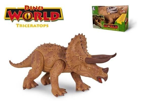 Dinossauro De Brinquedo- Triceratops - Com Sons E Articulado