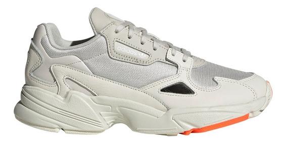 Zapatillas adidas Falcon Bei/gri De Mujer