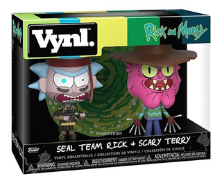 Funko Rick Y Morty Vynl Rick + Scary Terry Orig Scarlet Kids