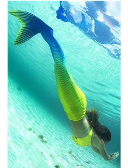 Cauda De Sereia Com Nadadeira Sem Biquíni