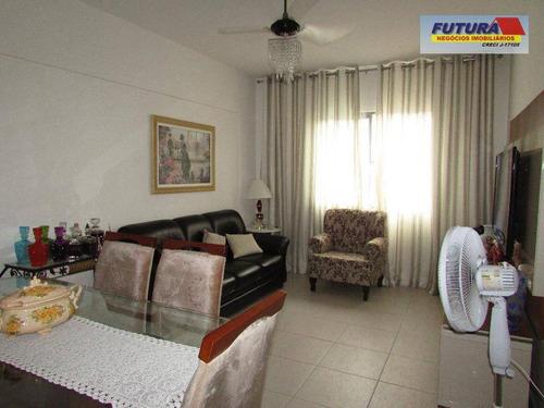 Apartamento Com 3 Dormitórios À Venda, 66 M² Por R$ 280.000,00 - Boa Vista - São Vicente/sp - Ap0063