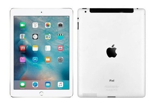 Apple iPad 2ºgeração A1396 Prata Tela Branca 32gb + Teclado