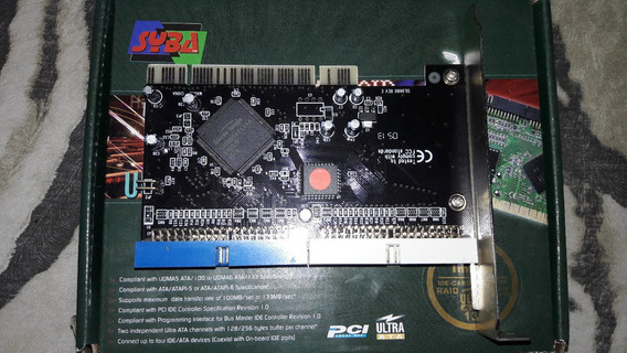 Placa Controladora Pci Silicon Image Tx2 Ultra Ata / 133
