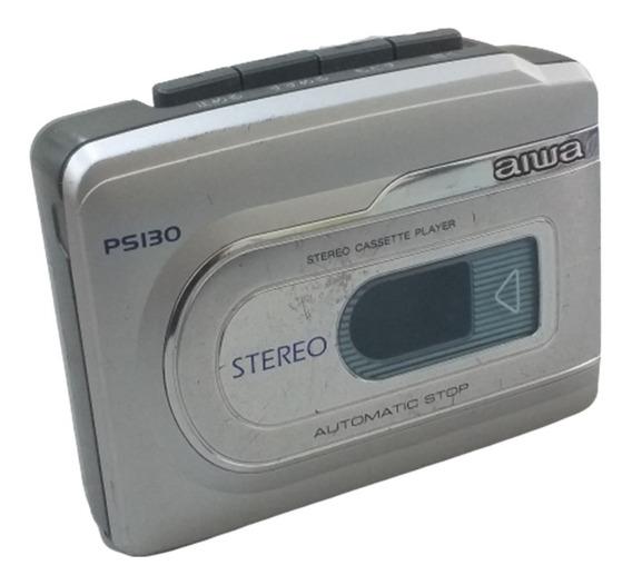Walkman Aiwa Hs - Ps130 Toca Fitas Vintage ( Funcionando )