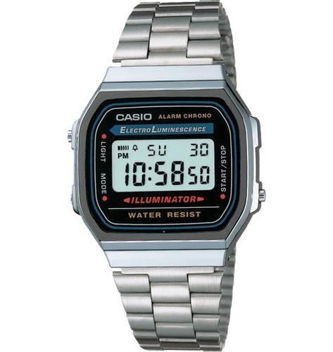 b11de19987fc Reloj Pulsera Casio A168w 1 Electro Luminescence Digital - Relojes ...