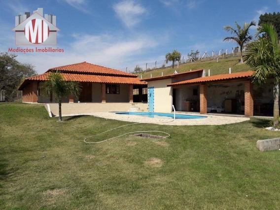 Chácara Com Escritura, Pomar Formado, 03 Dormitórios À Venda, 1600 M² Por R$ 450.000 - Zona Rural - Pinhalzinho/sp - Ch0522