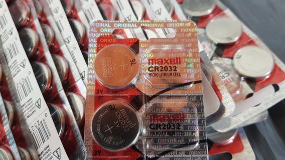 Bateria Maxell 2032 3v Original Cr2032 Cartela Com 5