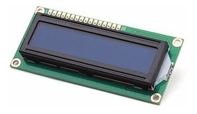 Display Lcd 16x2 - 1602 Backlight Led Azul P/ Arduino Pic