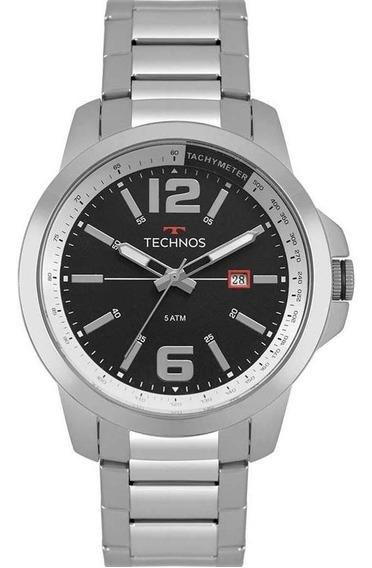 Relógio Masculino Technos Racer Prata 2115mrp/1p Original