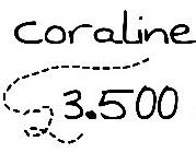 Libro Coraline (usado) Por 3500 Colones