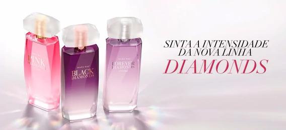 3 Perfumes Diamonds Intense Mary Kay Lançamento Promoção