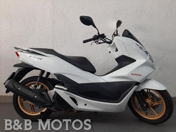 Honda Pcx 150 Dlx Branca 2016 N Burgman Sh Nmax