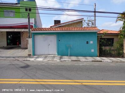 Casa Para Venda Em Mogi Das Cruzes, Centro, 3 Dormitórios, 3 Banheiros, 2 Vagas - 810