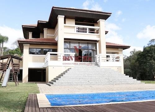 Casa Em Condomínio Com 4 Dormitórios À Venda Com 644.56m² Por R$ 4.039.000,00 No Bairro Passauna - Campo Largo / Pr - Aa 1413
