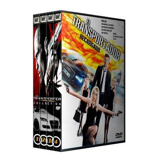 El Transportador Coleccion En Dvd Latino/ingles Subt Español