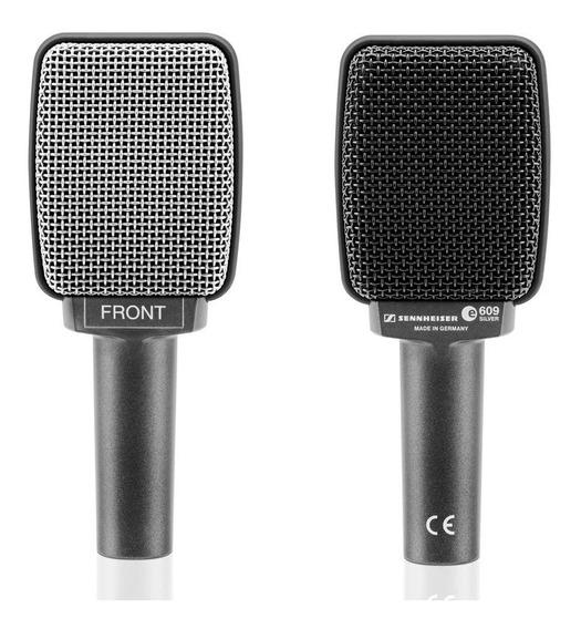 Microfone Para Instrumentos Sennheiser E609 Silver