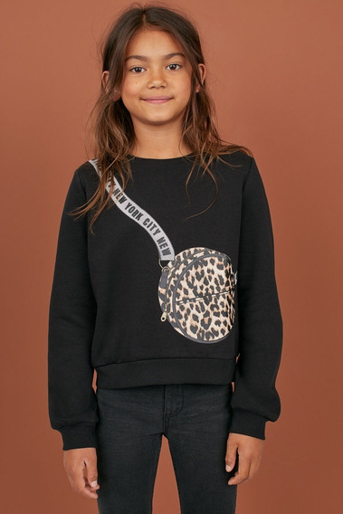Sudadera New York City De Niña H&m Talla 12-14
