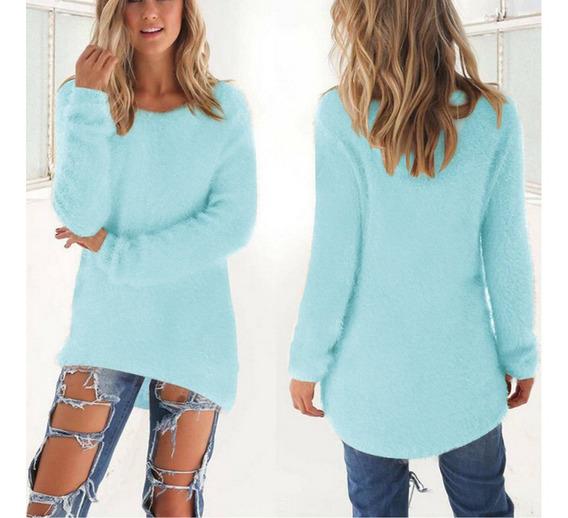 S-3xl Mujeres Señoras Invierno Otoño Pullover Suéter De M