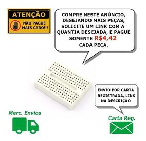 Kit Protoboard 170 Pontos 02 Pçs + 100 Leds Alto-brilho