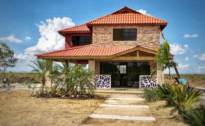 Venta Finca Y Villa Campestre Titulo En Vacacional Rep Dom