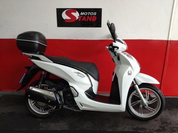 Honda Sh 300 I 300i Abs 2016 Branca Branco