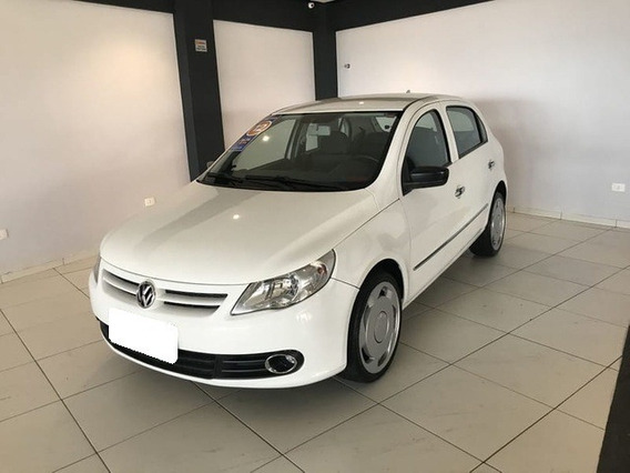 Volkswagen Gol 1.6 Mi Power G.v Branco 8v Total Flex