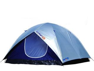 Barraca Camping Luna 6 Pessoas Acampamento Praia + Bolsa Mor