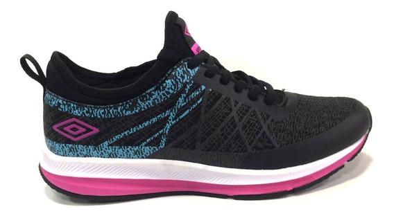 Zapatos Umbro Originales Para Damas - Um16788w - Black