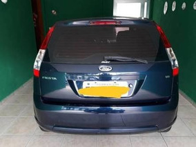 Ford Fiesta Motor 1.6 2006 Azul 4 Portas