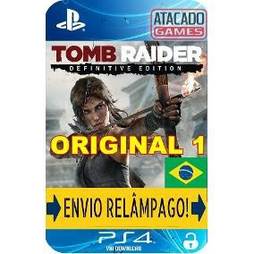 Tomb Raider Para Ps4 Midia Digital Primaria