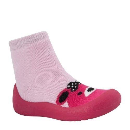 Botas Mujer Niña Super Comoda Mini Rosa Textil Xv654