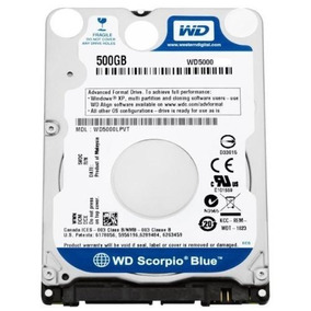 Hd 500gb Wd5000 Para Notebook Western Digital 7mm Slim