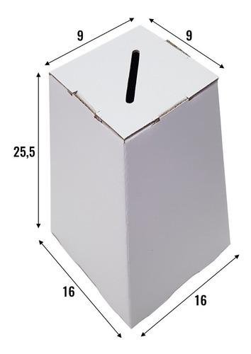Imagem 1 de 1 de Impresso Personalizado - Urna 25 Cm - Kit Com 50 Unidades