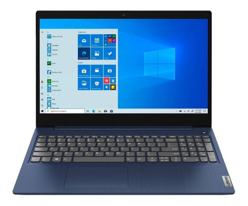 "Imagen 1 de 7 de Notebook Lenovo IdeaPad 15IML05  abyss blue táctil 15.6"", Intel Core i5 10210U  8GB de RAM 512GB SSD, Intel UHD Graphics 620 1366x768px Windows 10 Home"