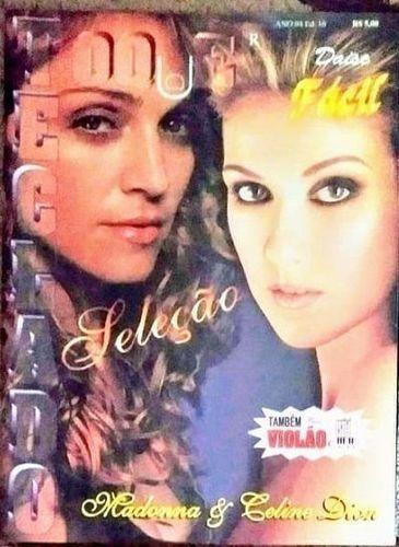 Toque Teclado Fácil, Ano 4, Ed. 16 - Madonna & Celine Dion