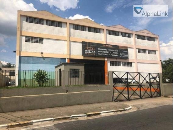 Galpão Industrial / Comercial - 3 Pavimentos - Barueri - Alphaville - Ga0030