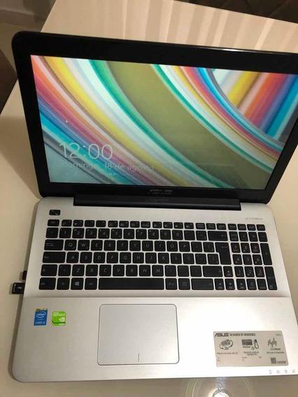 Notebook Asus X555l I5 6gb Ram Com Placa De Vídeo