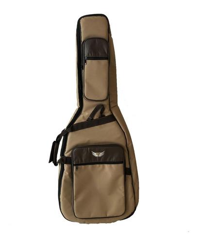 Bag Capa Para Violao Folk Titanium Bs + Nf