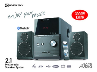 Equipo De Audio 2.1 North Tech