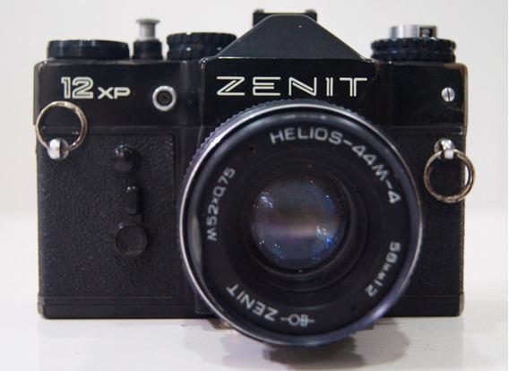 Câmera Fotográfica Analógica Zenit 12xp Com Case Original