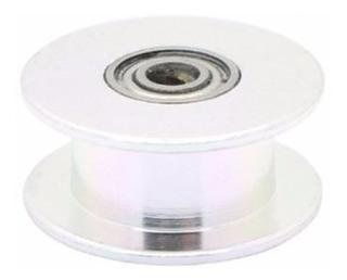 Polea Gt2 Guia Con Rodamiento Sin Dientes Impresora 3d 6mm
