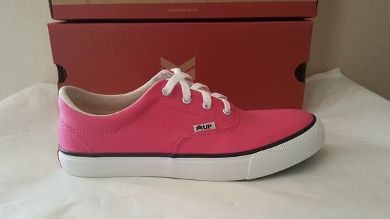 Tênis Up Classic Canvas Rosado. Casual