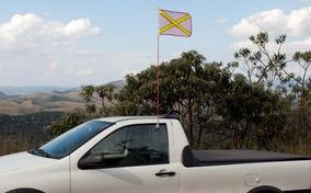 Bandeirola Para Mineração - Antena Sinalizadora 1,30m
