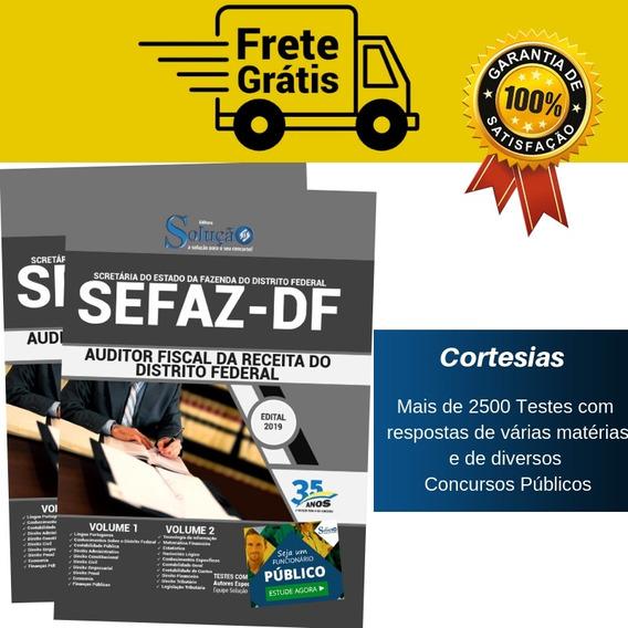 Apostila Sefaz Df Auditor Fiscal Da Receita Distrito Federal