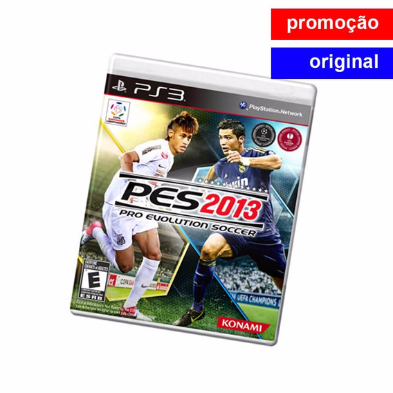 Game Pes - Pro Evolution Soccer Pes 2013 Para Ps3 - Usado